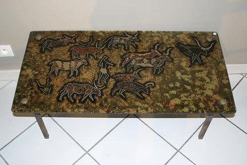 Table basse Art Rupestre