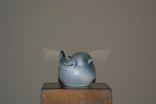Oiseau en porcelaine Virebent