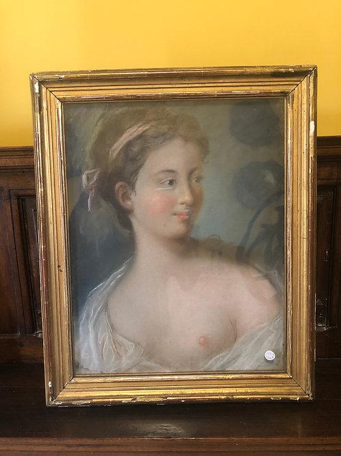 Portrait de femme XVIIIs