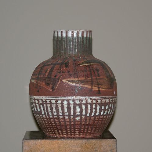 Grand vase en céramique Accolay