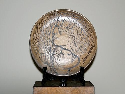 Assiette en céramique Jean Marais