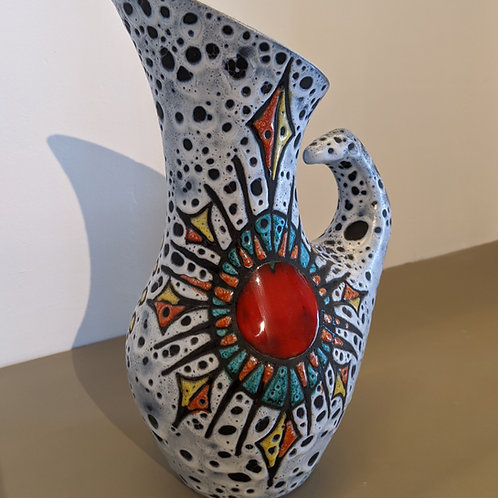 Pichet en céramique granit