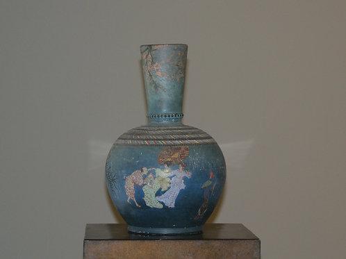 Duo de vases japonisants