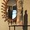 Thumbnail: Miroir en cuivre avec détails floraux