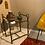 Thumbnail: Table d'appoint en fer et verre