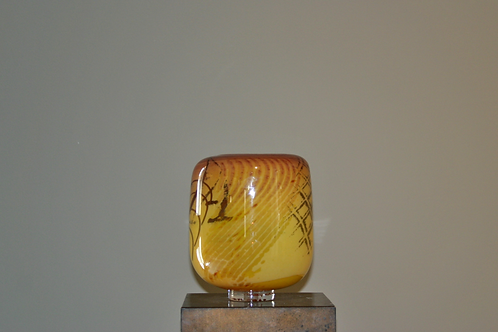Grand vase signé Morin