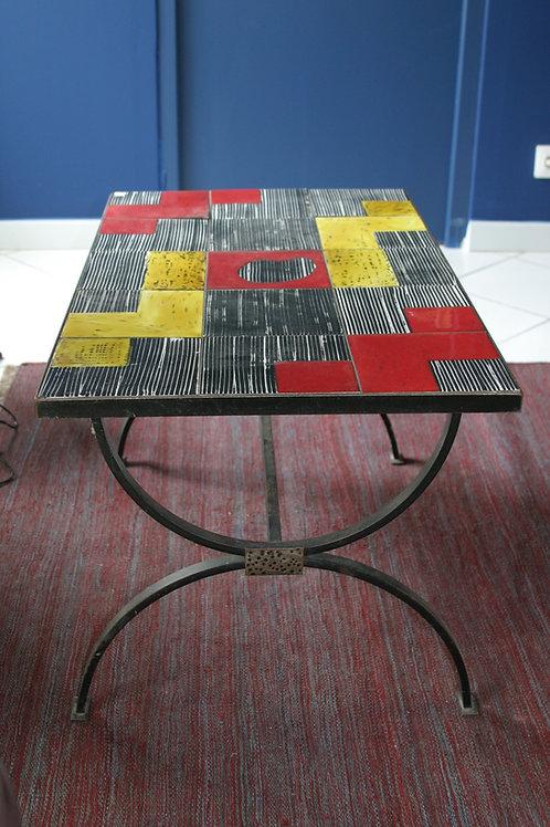 Table basse en céramique Cloutier