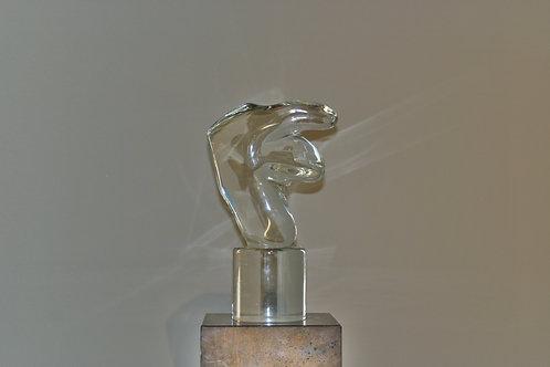 Sculpture en verre