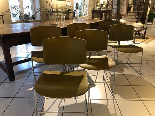 Lot de 6 chaises Max Stacker Steelcase
