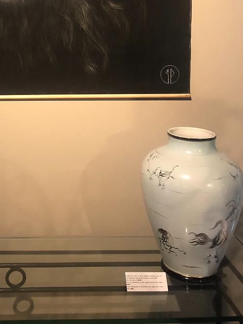 Vase porcelaine Italie