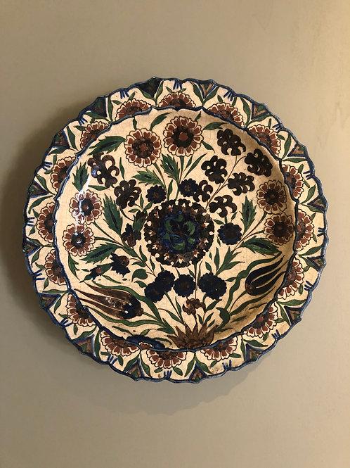 Assiette en céramique Lachenal