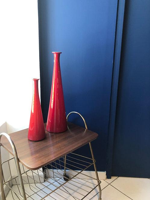 Bouteille décorative en verre de Murano