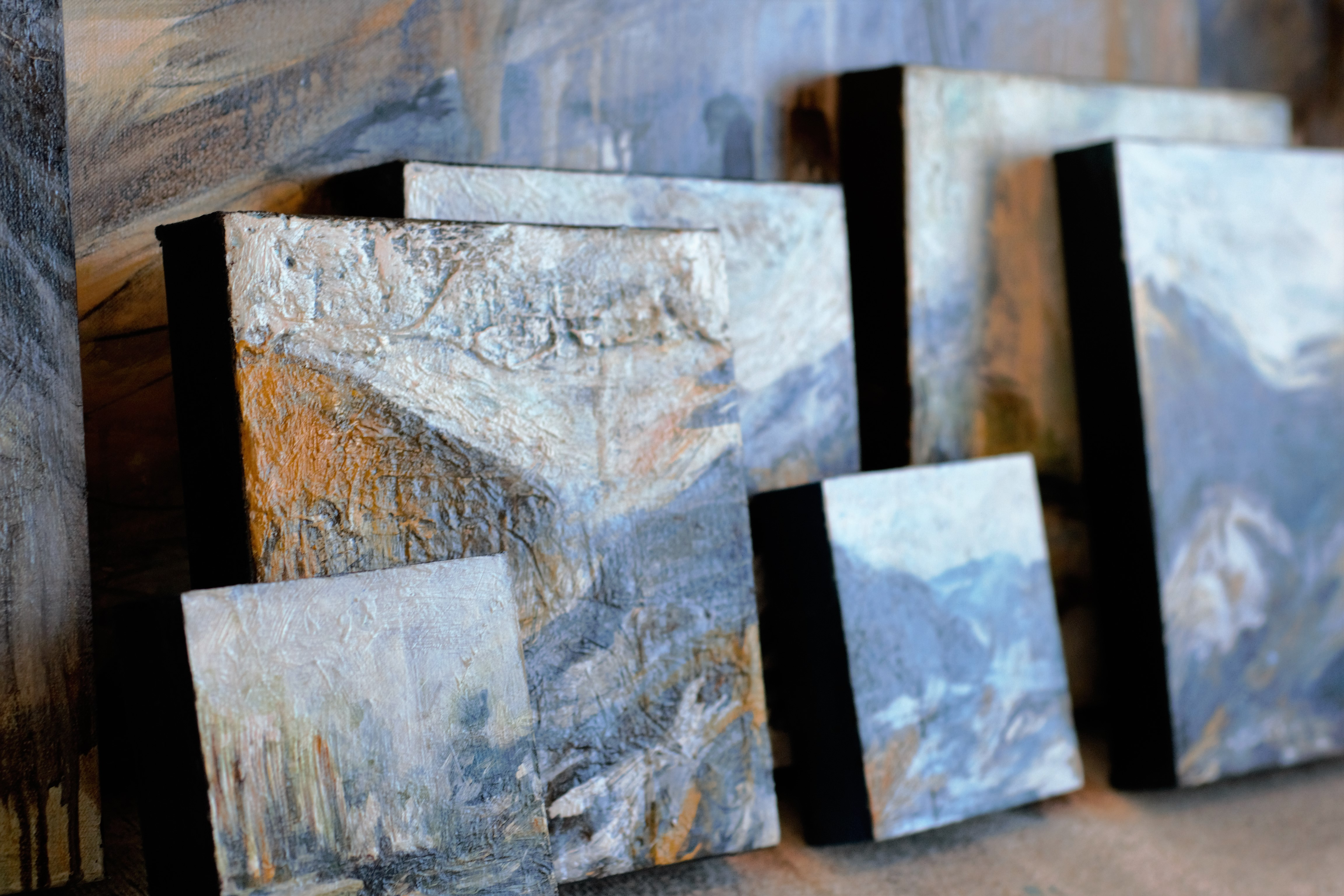 Landscapes on canvas collection
