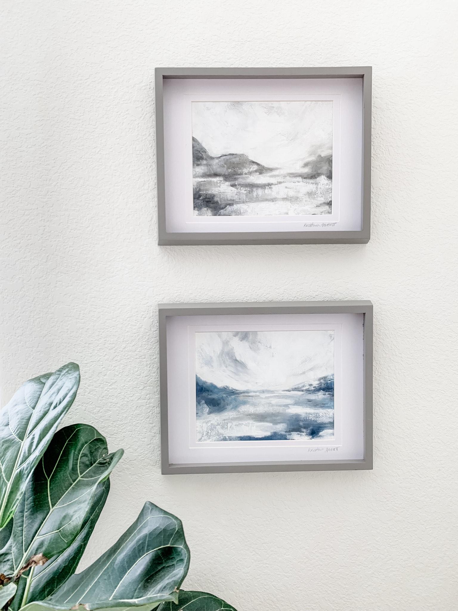 Landscapes on paper