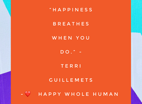 Happiness Breathes