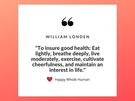 Enjoy Good Health Today!
