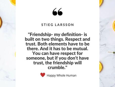 Friendship Fundamentals