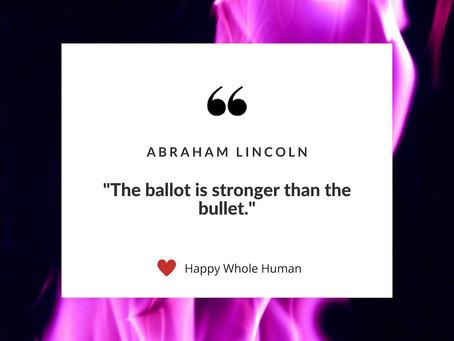 Ballots Not Bullets