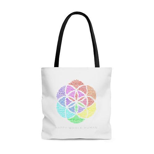 HAPPY WHOLE HUMAN® Tote Bag