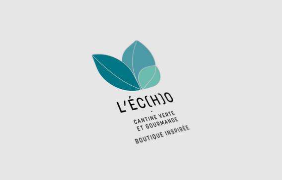 logotype l'écho restaurant
