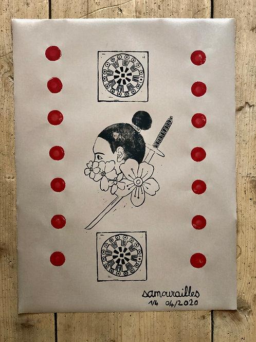 Affiche SAMOURAILLE