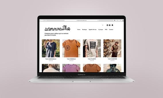 Samourailles site e-shop