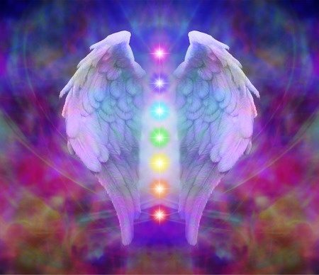 Angel-wings-chakras