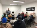 Fishing Pro Teaching in Inside Class