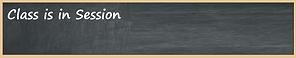 Class is in session blank chalkboard lon