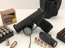 Sig Sauer p365 Ultra Compact 9mm Pistol.