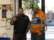Fishing Pro Giving One-On-One Advice to a Bert's Customer