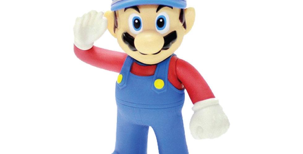 Figura Mario Bros - Mario Policía
