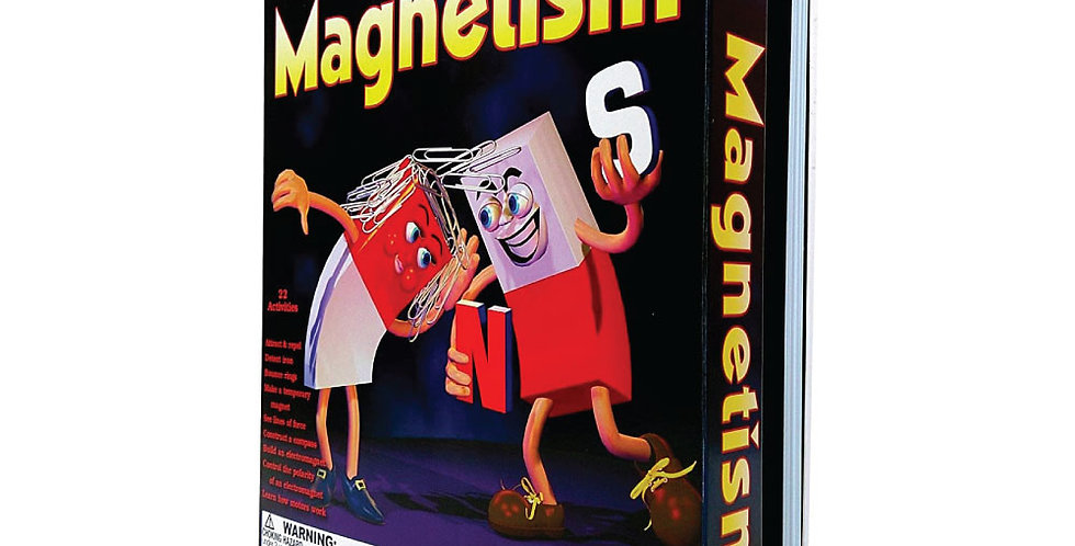 Kit Científico ScienceWiz - Magnetismo (Inglés)
