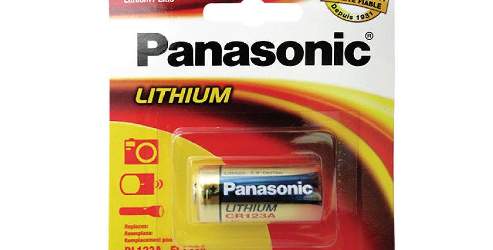 Batería Panasonic CR123A Litio