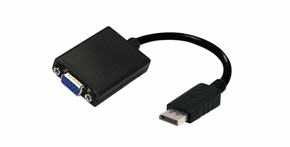 Adaptador de Display Port a VGA - Argom ARG-CB-0056