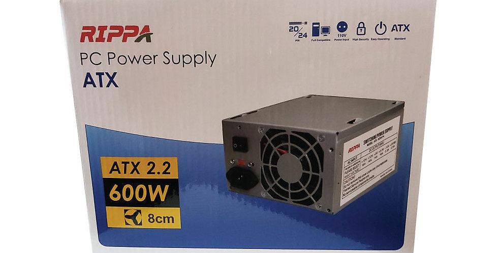 Fuente de Poder ATX Rippa - 600 Watts