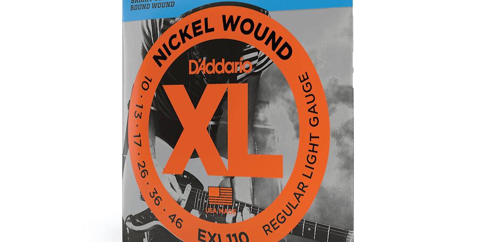Cuerdas D'Addario Metal EXL110 .010