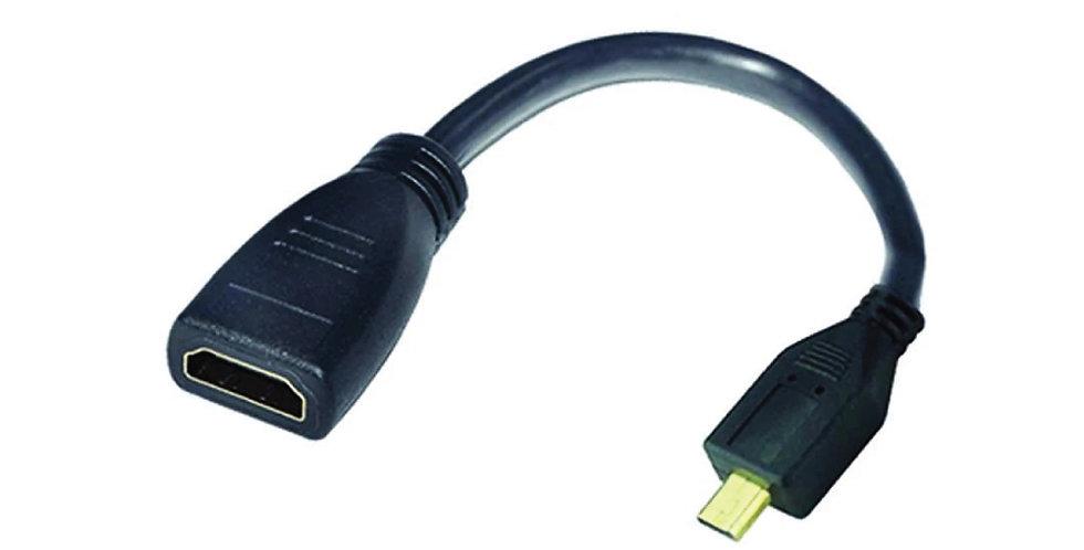 Cable Adaptador de Micro HDMI a HDMI