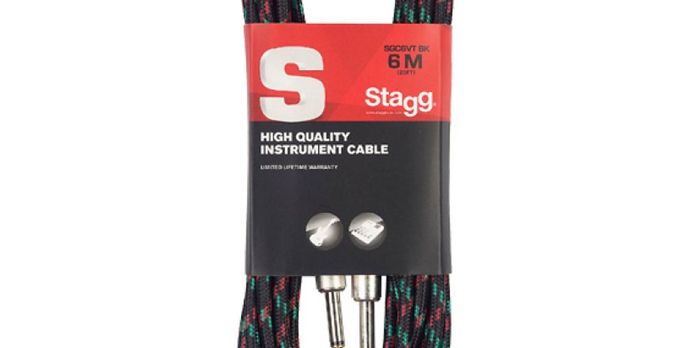 Cable para Instrumento Stagg - 6 Metros
