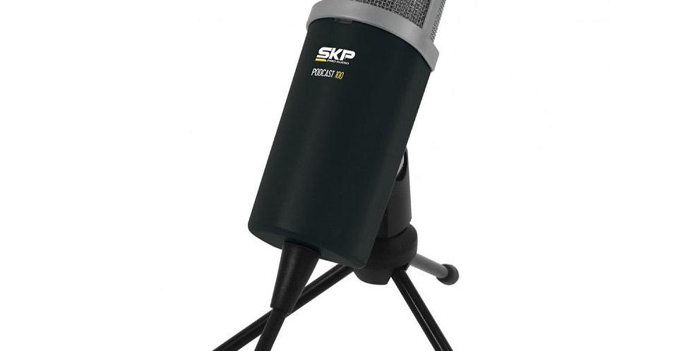 Micrófono SKP Pro Audio - Podcast 100