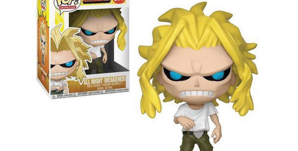 Funko Pop - All Might Debilitado - My Hero Academia 371