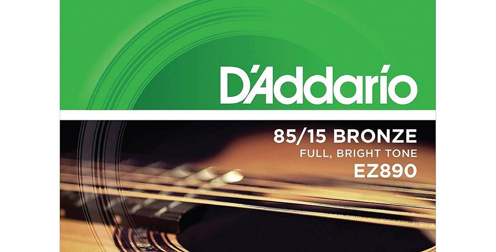 Cuerdas D'Addario Metal EZ890 Bronce .009