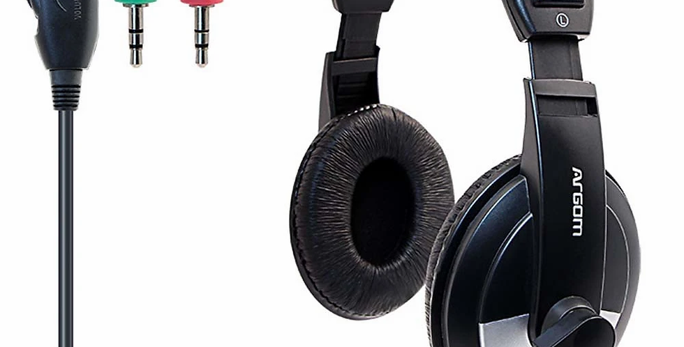 Headset Argom Pro 75 MIC+Audio 3.5 mm - ARG-HS-0075