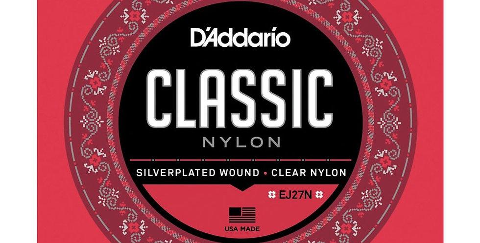 Cuerdas D'Addario Nylon Classic EJ27N