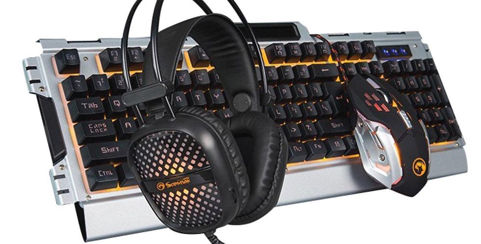 Kit Gamer Marvo Scorpion CM303