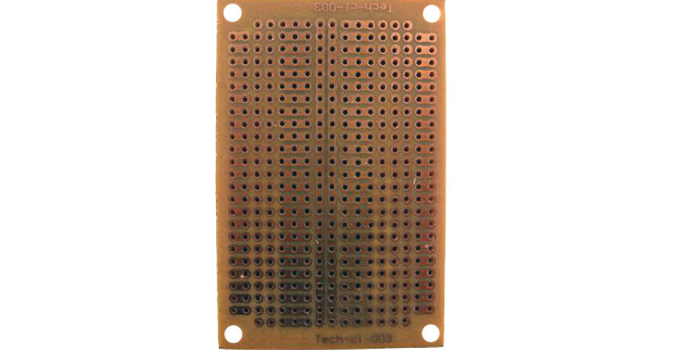 Placa Perforada de Cobre - Techman CL-003