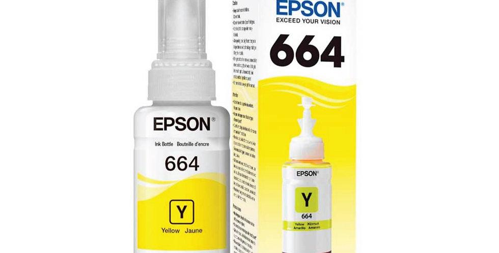 Botella de Tinta Epson 664 Amarilla