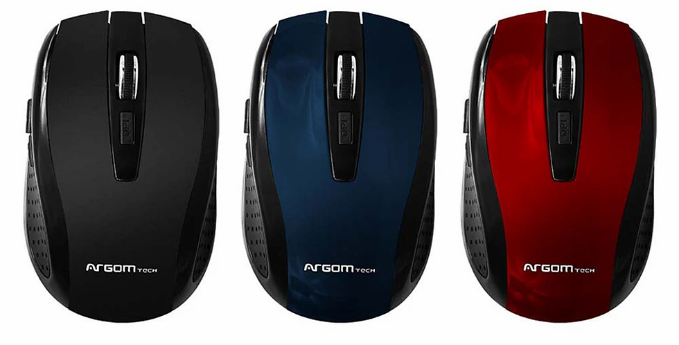 Mouse Inalámbrico - Argom Tech ARG-MS-0032