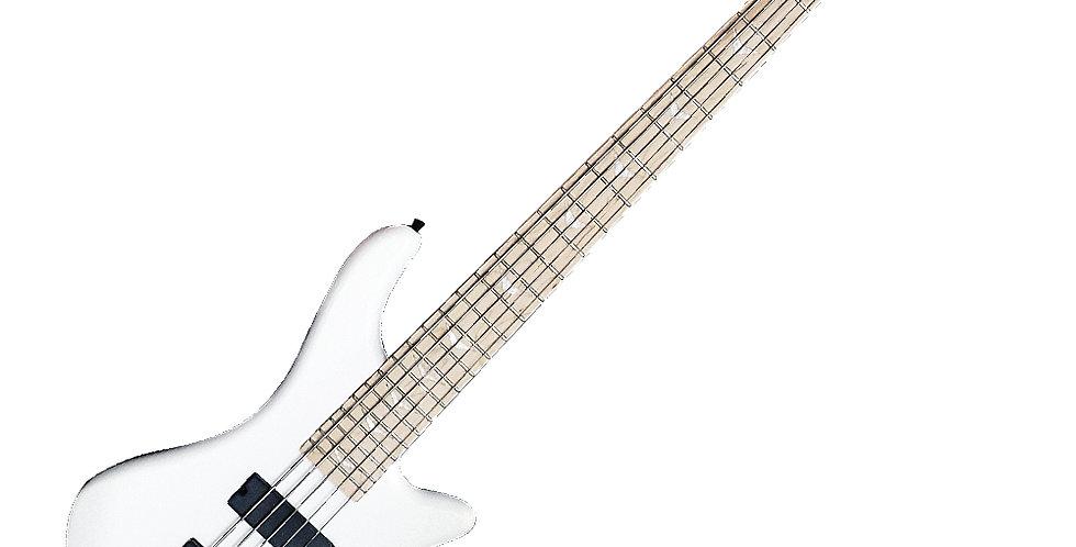 Bajo Holmer 5 Cuerdas Blanco