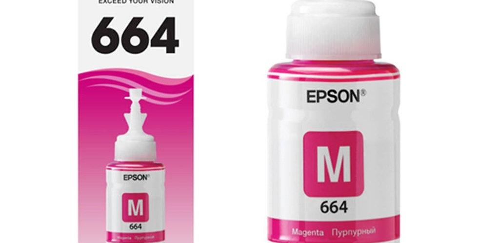 Botella de Tinta Epson 664 Magenta